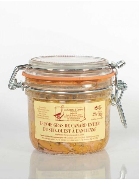 LE FOIE GRAS DE CANARD ENTIER 180 g