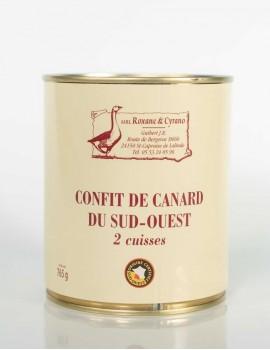 CONFIT DE CANARD DU SUD-OUEST - 2 Cuisses
