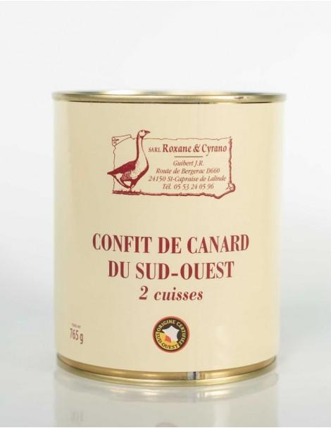CONFIT DE CANARD DU SUD-OUEST (2 Cuisses)