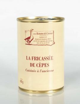 LA FRICASSÉE DE CÈPES Cuisinée à l'ancienne