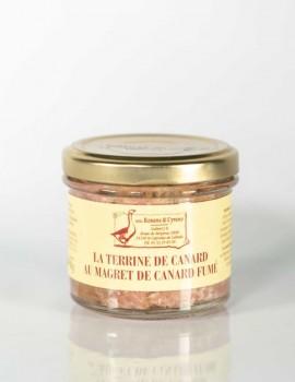 LA TERRINE DE CANARD AU MAGRET DE CANARD FUMÉ