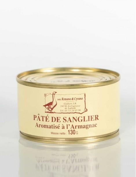 PÂTÉ DE SANGLIER Aromatisé à l'Armagnac