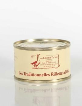 LES TRADITIONNELLES RILLETTES D'OIE
