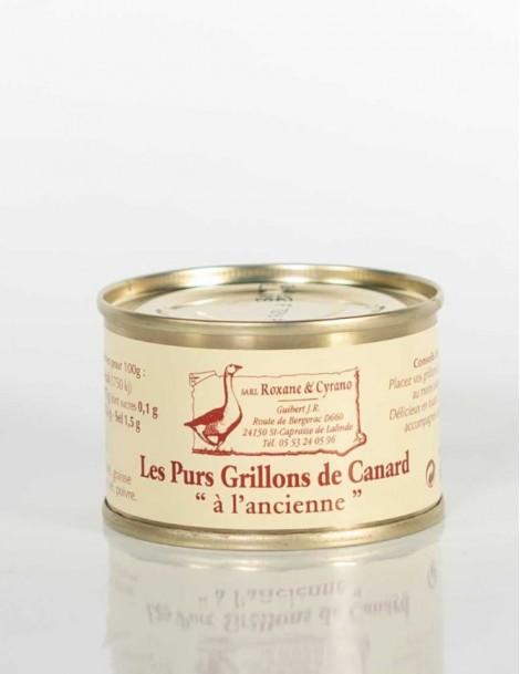 """LES PURS GRILLONS DE CANARD """"à l'ancienne"""" - 65 g"""