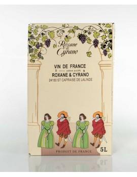 Vinibag 5 L - VIN DE FRANCE - ROXANE ET CYRANO