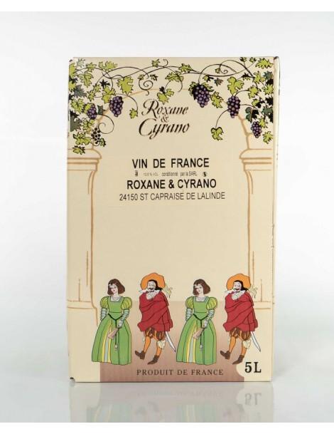 VINIBAG 5L, VIN DE FRANCE, ROXANE ET CYRANO