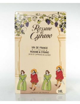 Vinibag 10 L -VIN DE FRANCE - ROXANE ET CYRANO