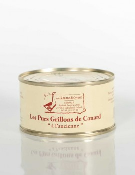 """LES PURS GRILLONS DE CANARD """"à l'ancienne"""" - 190 g"""