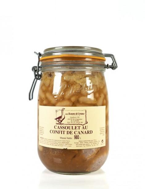 CASSOULET AU CONFIT DE CANARD - 980 g