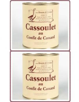 2 CASSOULET AU CONFIT DE CANARD - 840 g