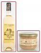 1 RILLETTES ROYALES DE CANARD 180 g + 1 Bouteille Côtes de Bergerac Moelleux 75 cl