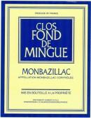 Clos Fond de Mingue