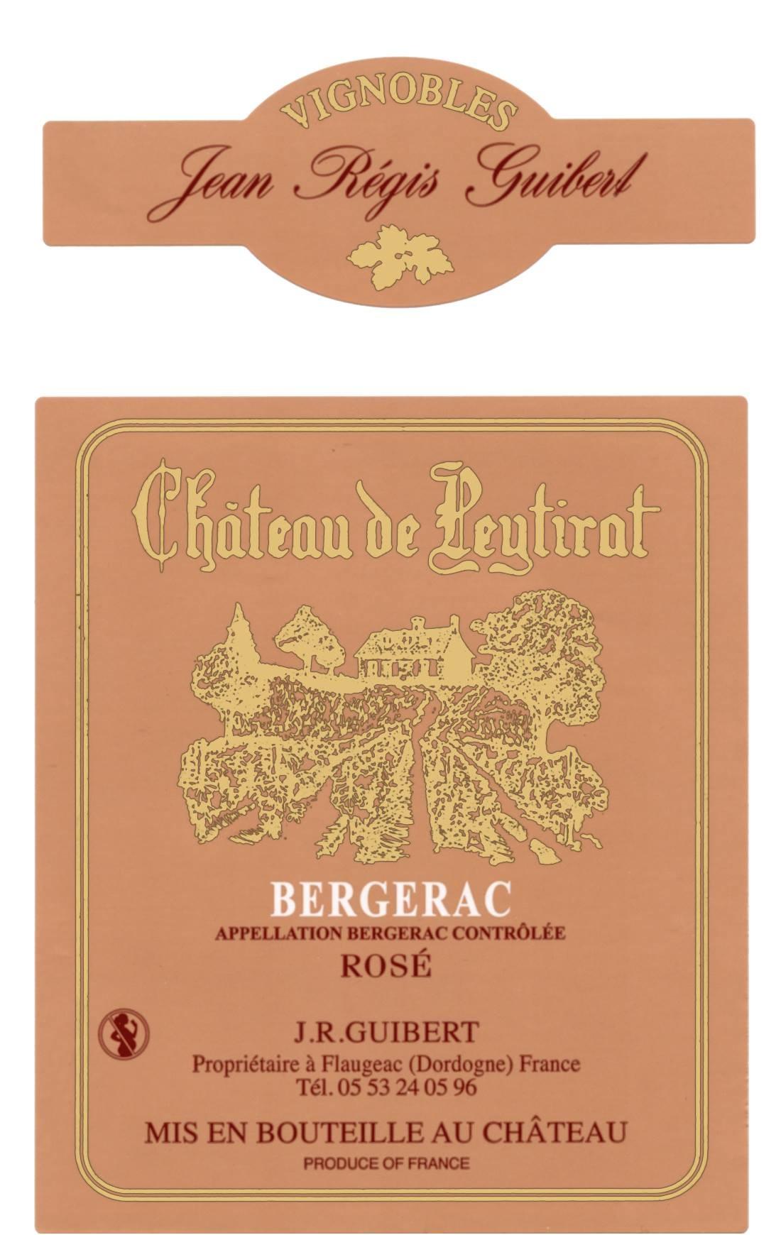 Château de Peytirat Bergerac Rosé