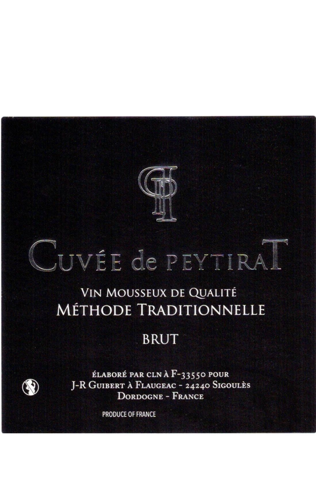 Cuvée de Peytirat Méthode Brut